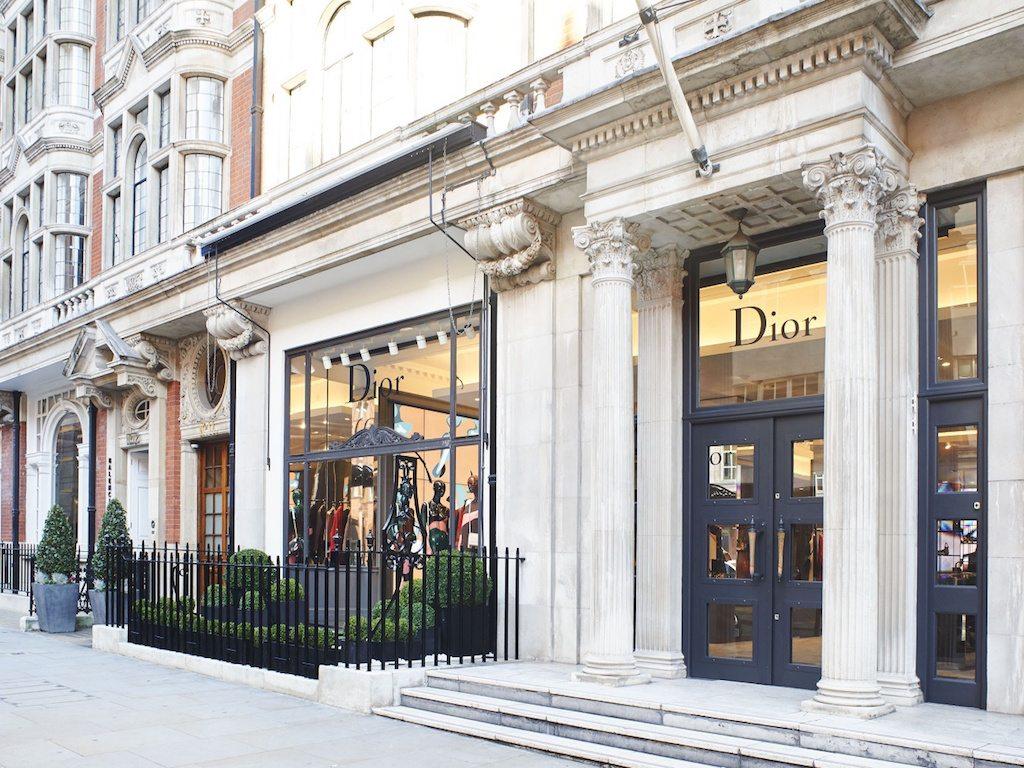 Dior expande su imperio con nueva tienda pop-up