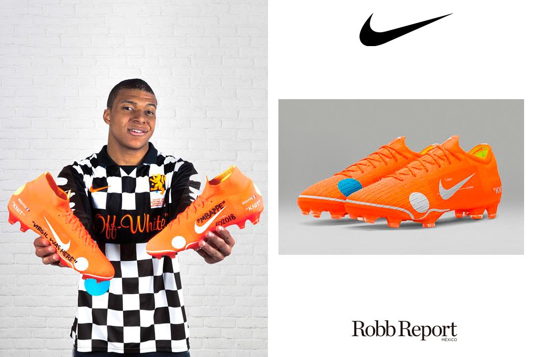 04 Nike - Estas son las marcas favoritas de lujo del próximo Messi, el francés Kylian Mbappé