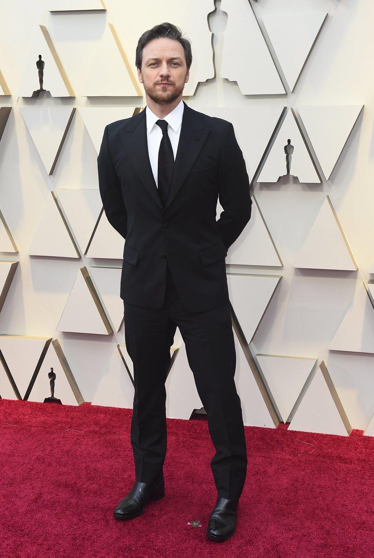 106018 james mcavoy alfombra roja oscar 2019 1 - Nuestros favoritos y no tan favoritos de la red carpet en los Oscar 2019