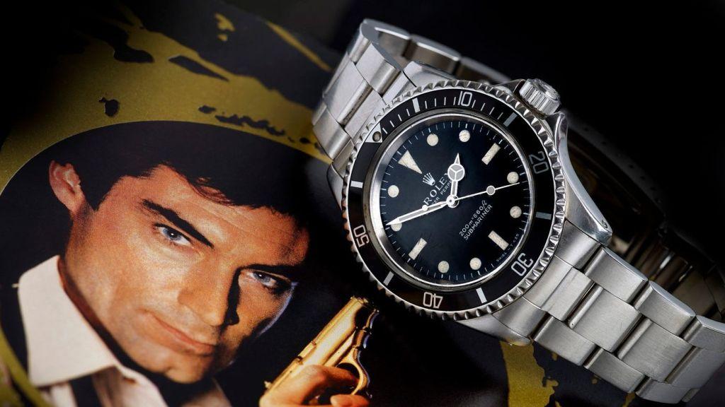 Este es el último Rolex que usó un agente 007 y estará a la venta