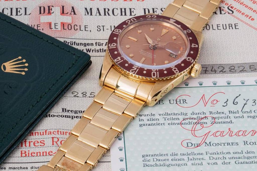 1958 Rolex GMT Master 1 1024x683 - Top 5: Los Rolex más caros del planeta ?
