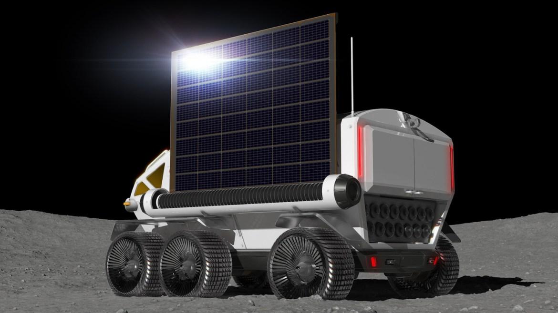 4 1 - Los astronautas llegarán en una Toyota a casi cualquier parte de la Luna