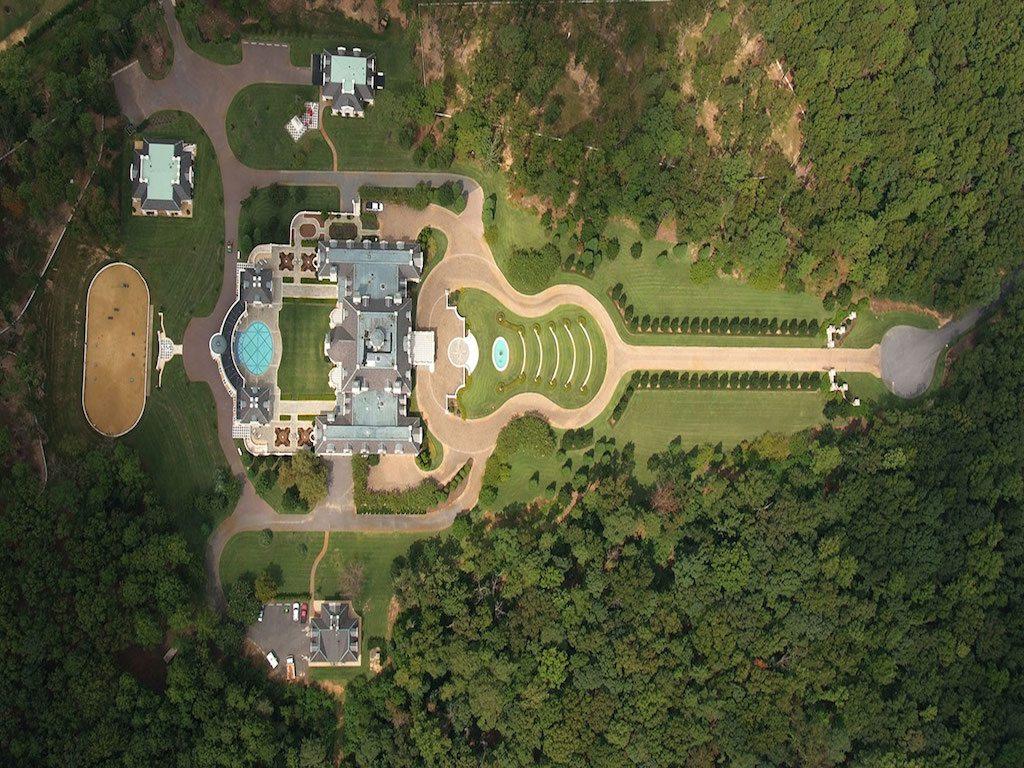 Subastarán la mansión más grande de Alabama