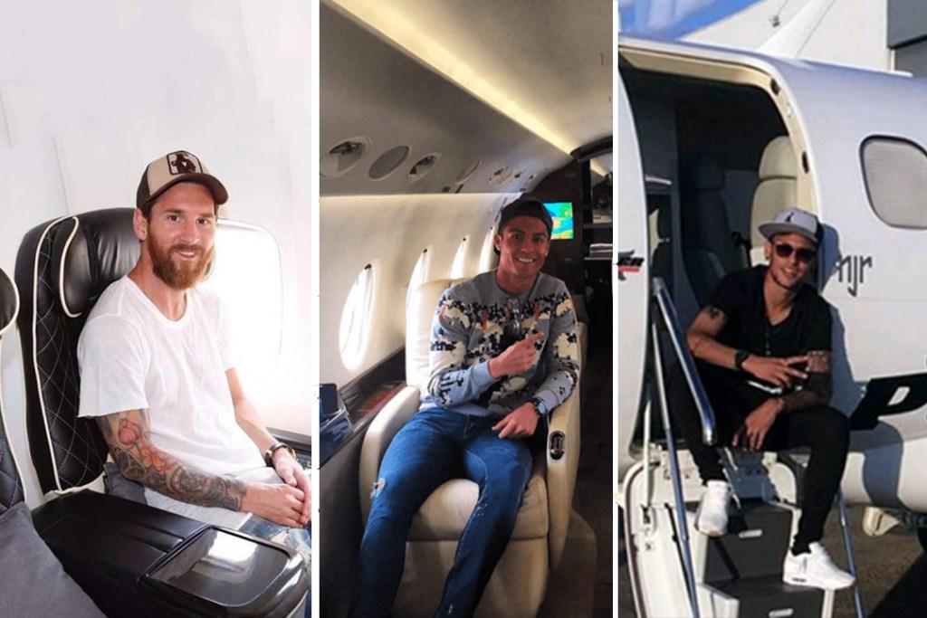 Estos son los futbolistas que poseen los jets privados más caros