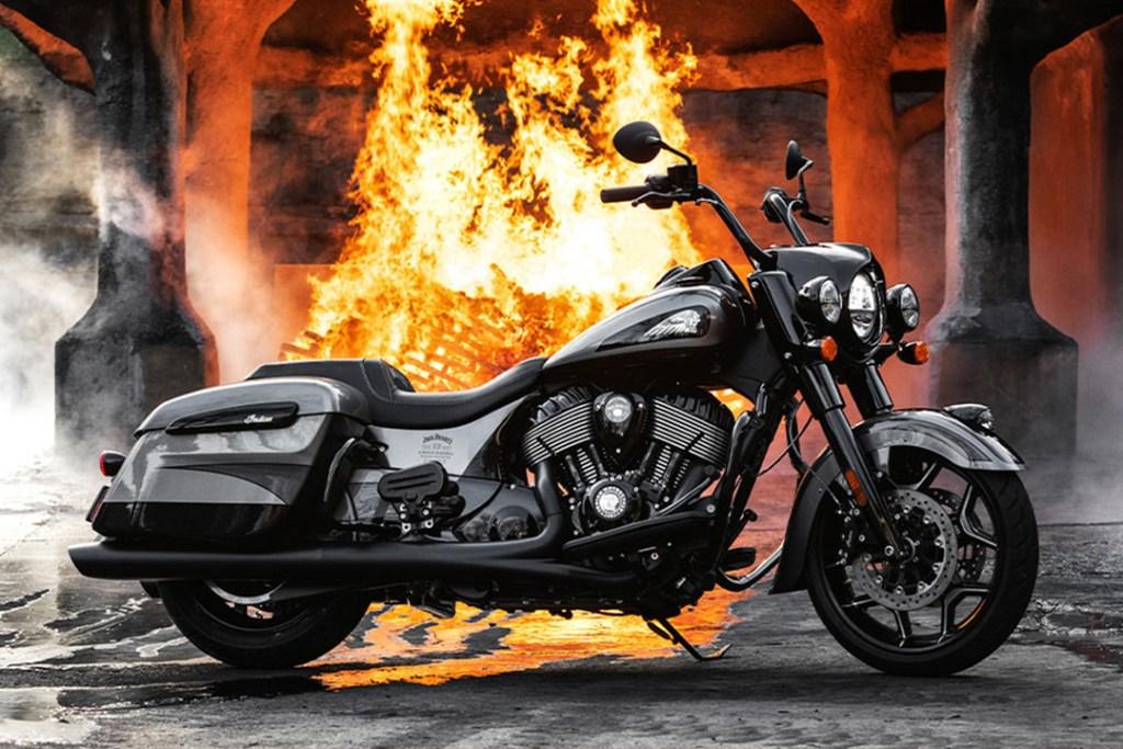 Conoce la nueva edición limitada de Indian Motorcycle y Jack Daniel's