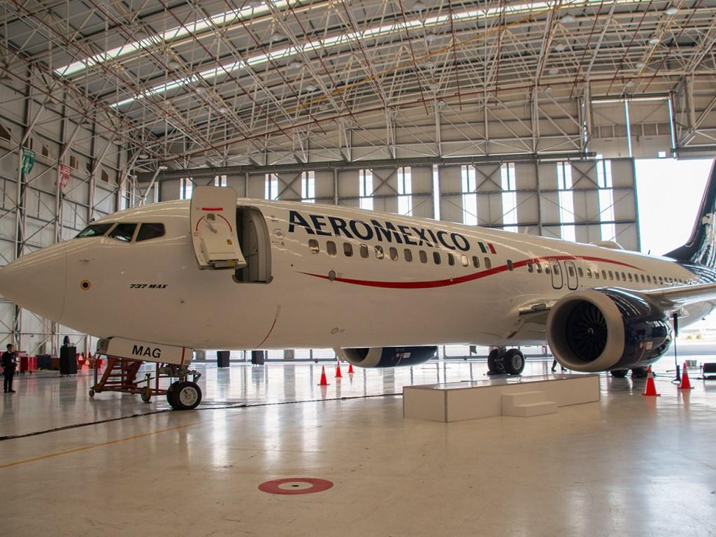 Aeroméxico le da la bienvenida al nuevo 737 MAX 8