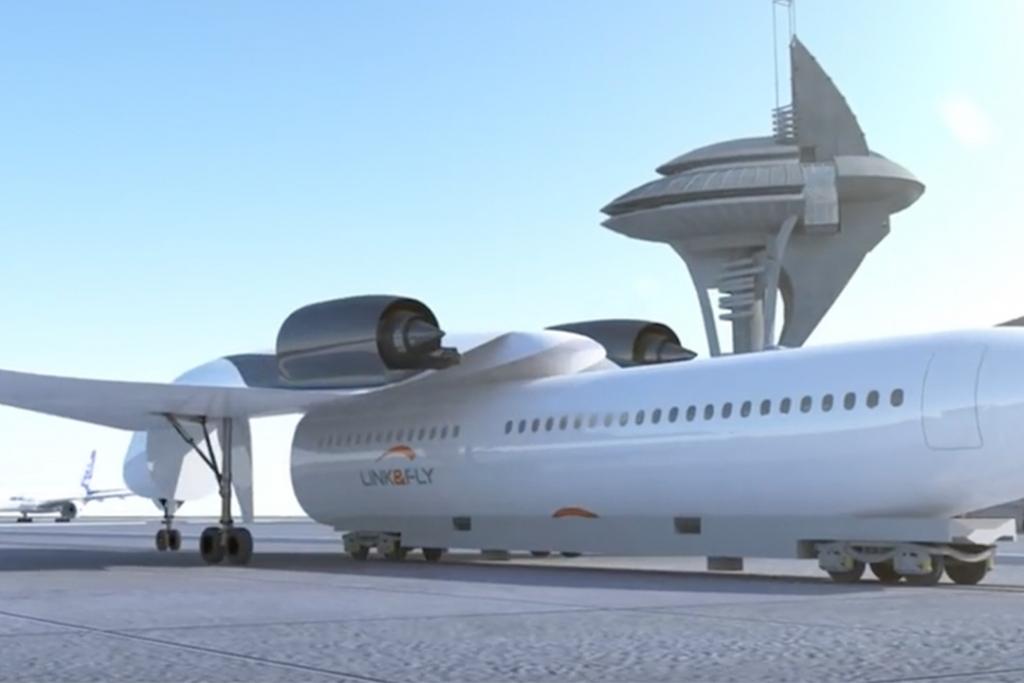 A2 1024x683 - Este avión con alas removibles podría recogerte -casi- en la puerta de tu casa