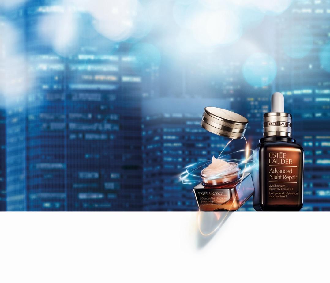 Advanced Night Repair Eye Supercharged Complex Synchronized Recovery Product on Background Global Expriy July 2019 baja - Cuatro lanzamientos de Estée Lauder que te harán lucir una piel espectacular