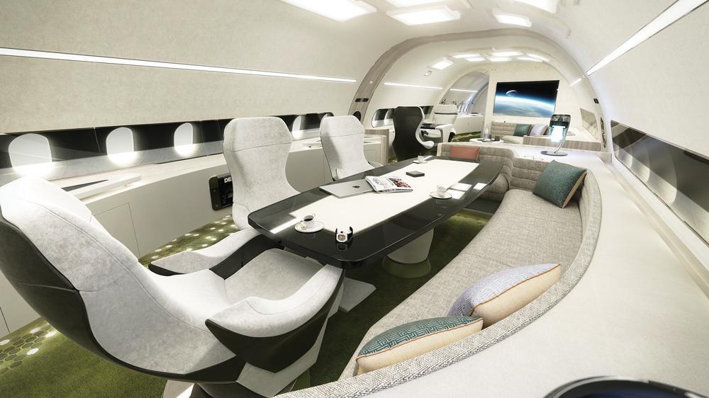 Quédate sin aliento con los interiores personalizados de estos jets privados