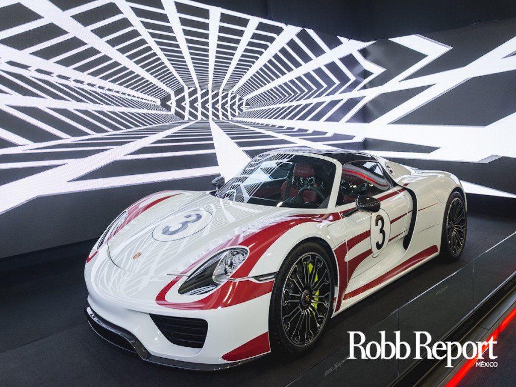 """Porsche presenta el """"918 Spyder Salzburg Edition"""" en Zona Maco"""