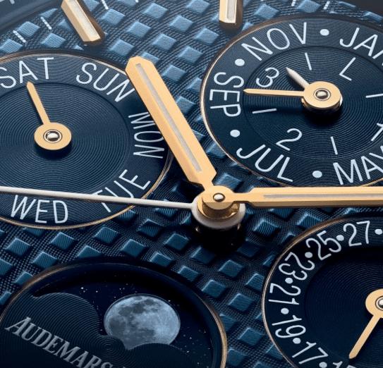 AP lanza el Royal Oak Perpetual Calendar hecho en oro