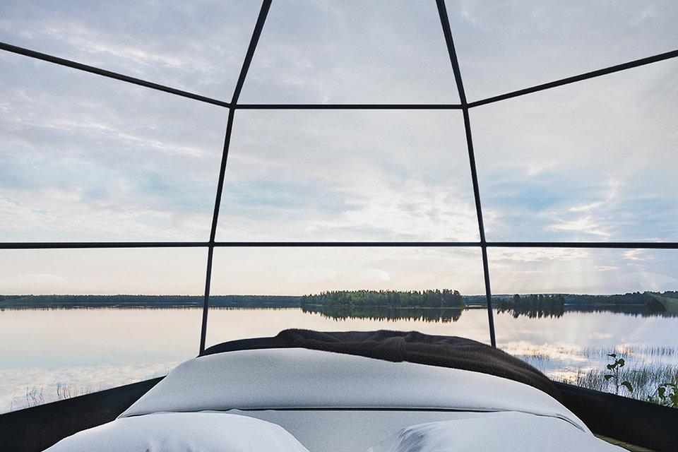 arctic fox igloos 2 thumb 960xauto 89008 1 - Este hotel te permite apreciar la aurora boreal desde la comodidad de tu cama