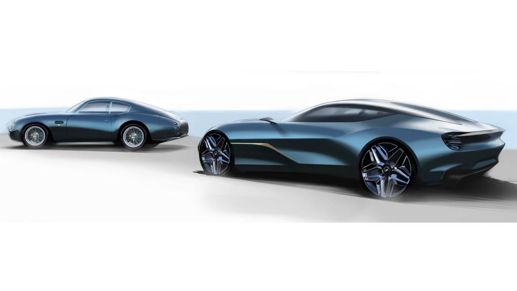 Aston Martin DBZ Centenary Collection 1 1024x576 - Aston Martin se pone italiano con su DBS GT Zagato de 7 millones de euros