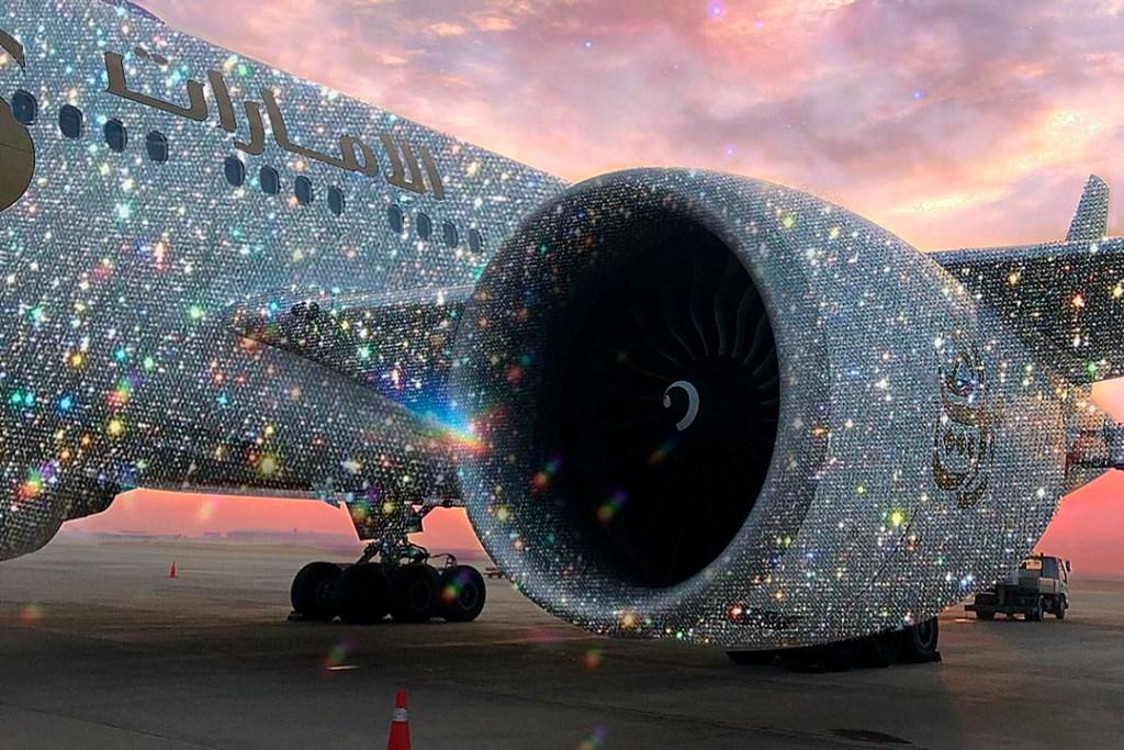 ¿Existe realmente este avión de diamantes?