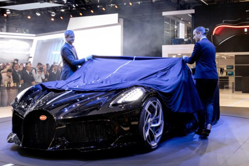 """""""La Voiture Noire"""" de Bugatti, el auto de los 12.5 millones de dólares"""