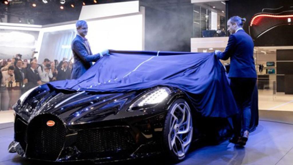 bugatti la voiture noire 1024x576 - Los más lujosos del Auto Show de Ginebra 2019