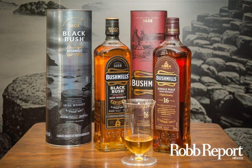 Bushmills lanza en México sus primeros whiskies