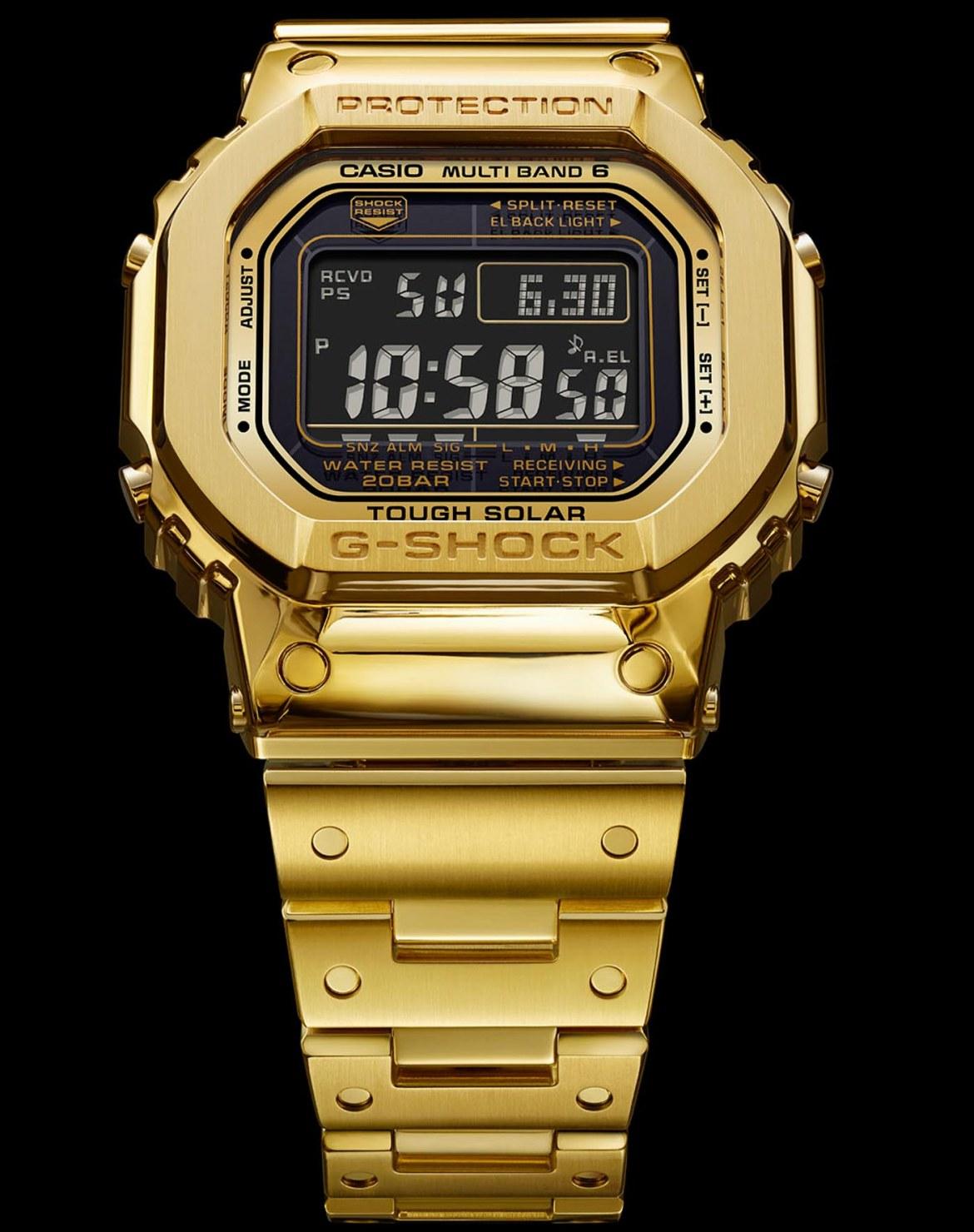 Casio G Shock G D5000 9JR GD50009JR 35th Anniversary Solid 18ct Gold aBlogtoWatch 1 - Casio lanza reloj de 18 quilates y no creerás el precio