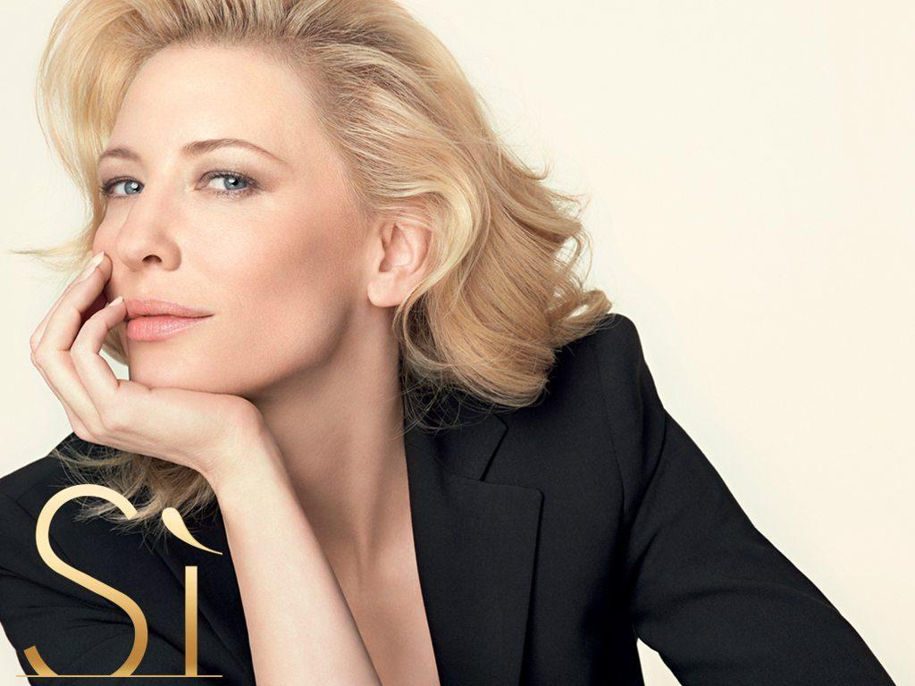 Cate Blanchett le dice que Sí a Giorgio Armani