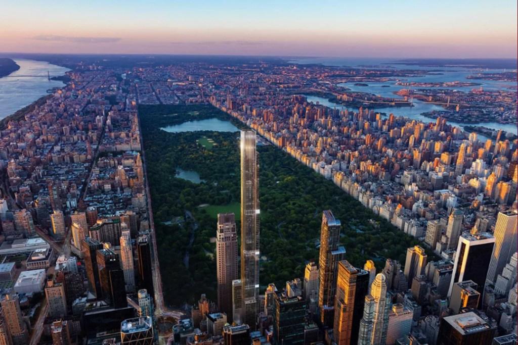 Múdate a Central Park Tower y goza de la mejor vista de NY solo para ti