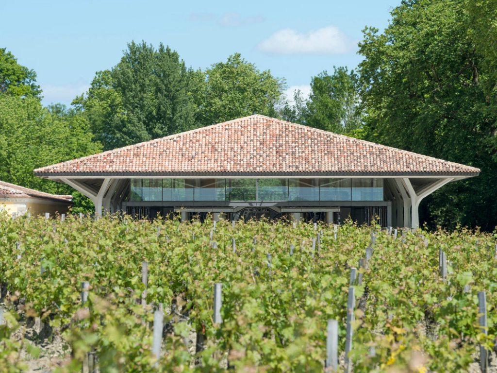 Norman Foster creó una cava para Château Margaux