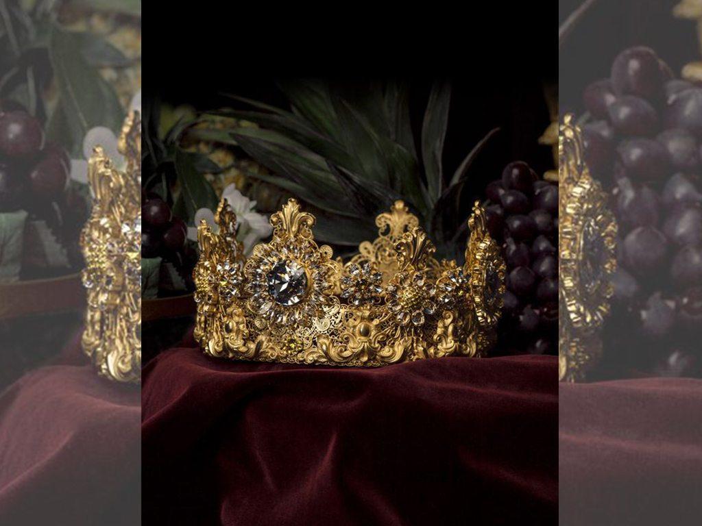 La exclusiva corona de Dolce & Gabbana