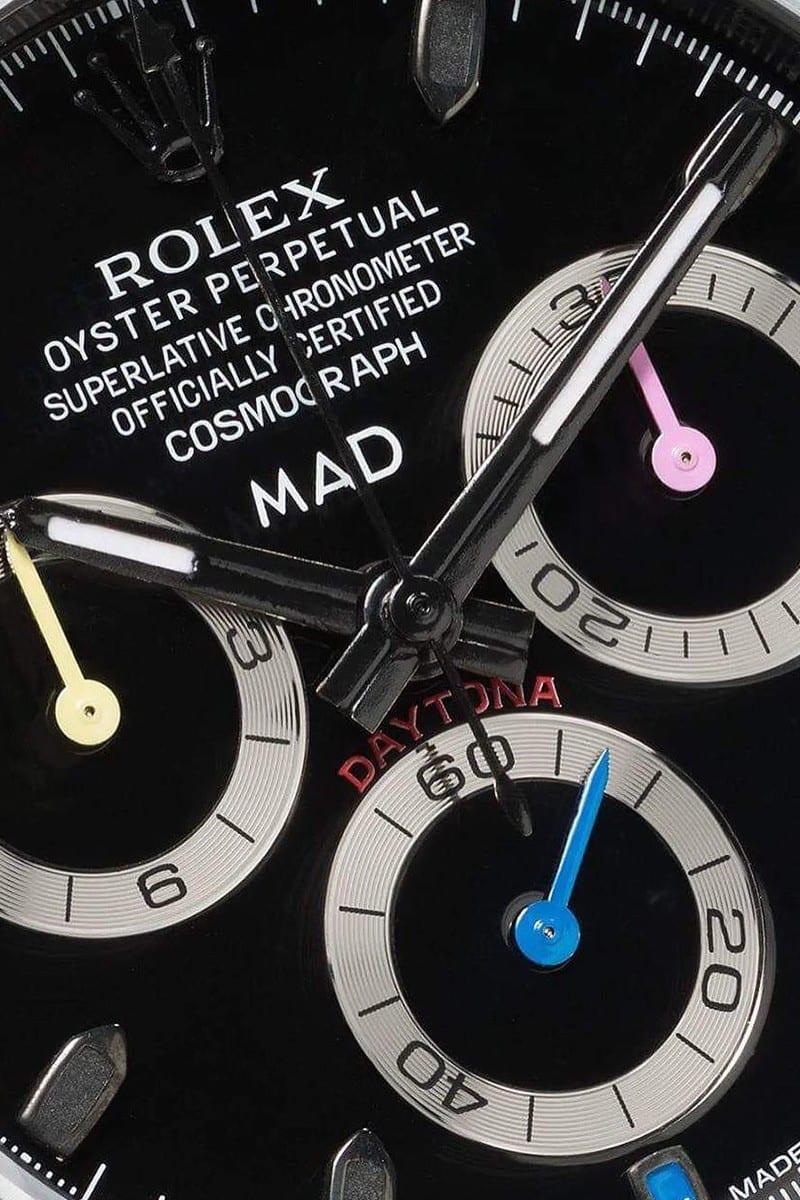 daytona rolex sapphire rainbow mad paris release 04 - Un Rolex y zafiros de arcoíris son la combinación perfecta para llevar en tu muñeca