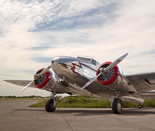 Viajar al estilo Casablanca es posible en este avión