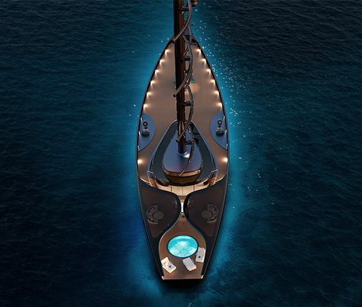 Navegar en este yate de lujo será una experiencia para millonarios