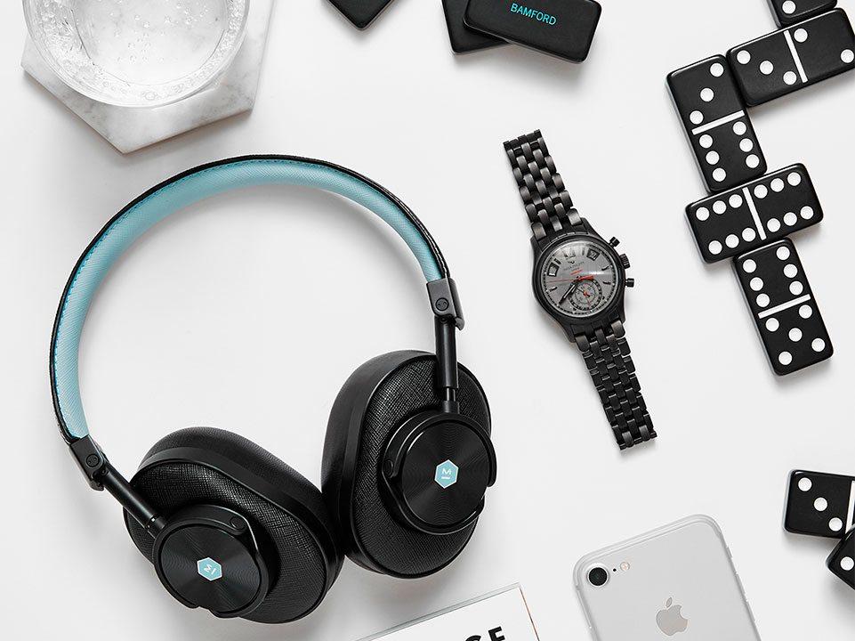Master & Dynamic for Bamford Watch Department: los audífonos que necesitas