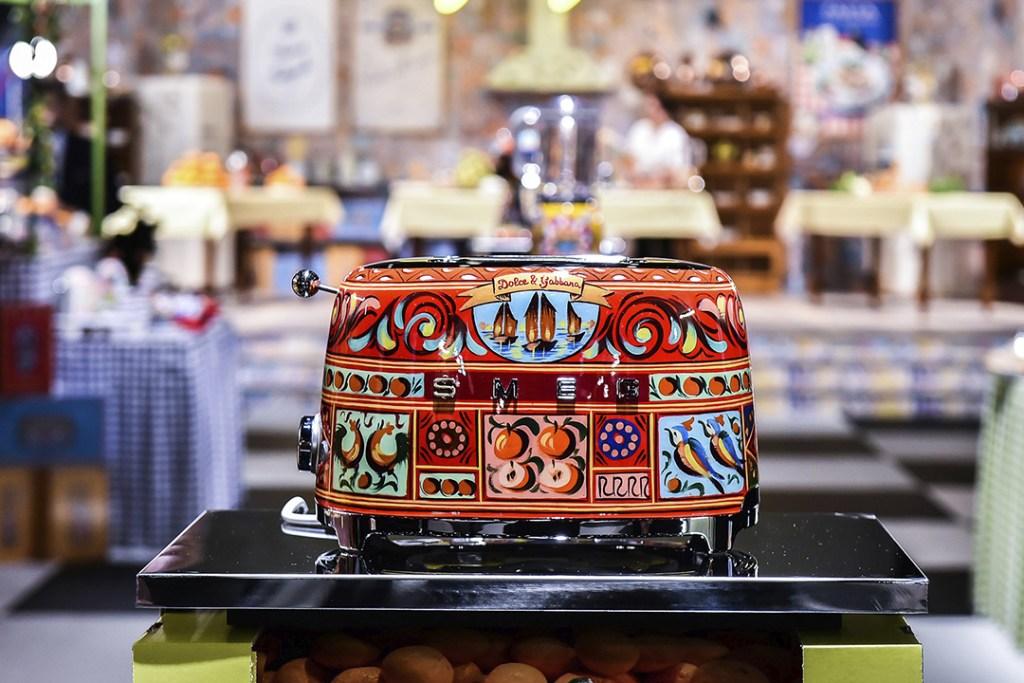 Los electrodomésticos de 50 mil dólares de Dolce & Gabbana ya están a la venta