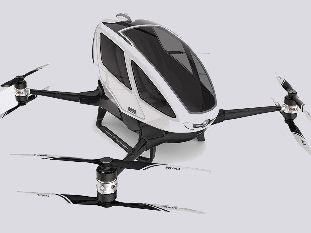 El primer dron para pasajeros