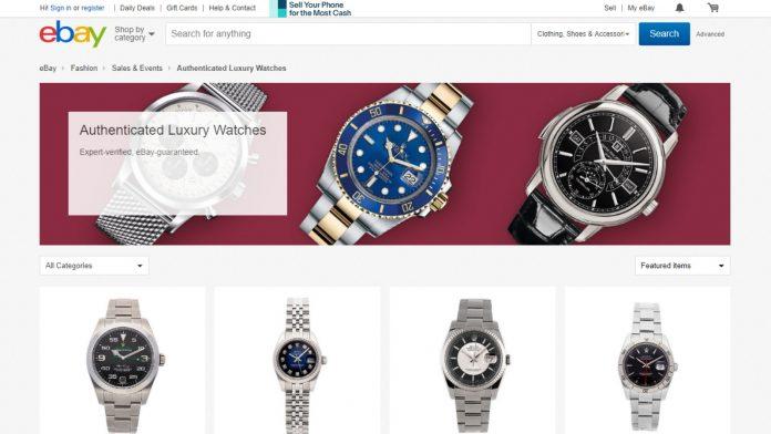 Ebay Authenticated Watches 696x392 - De ahora en adelante podrás comprar relojes de lujo autenticados en eBay