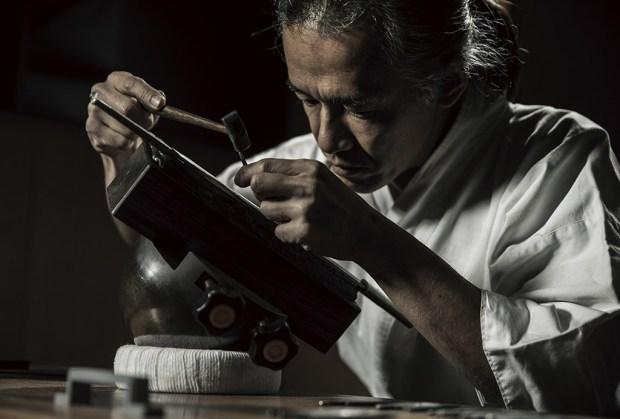 elaboracion g shock - G-Shock forjó un increíble reloj como espada japonesa