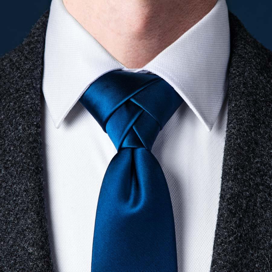 eldredge knot - 5 nudos de corbata que debes conocer si quieres presumir de tu estilo