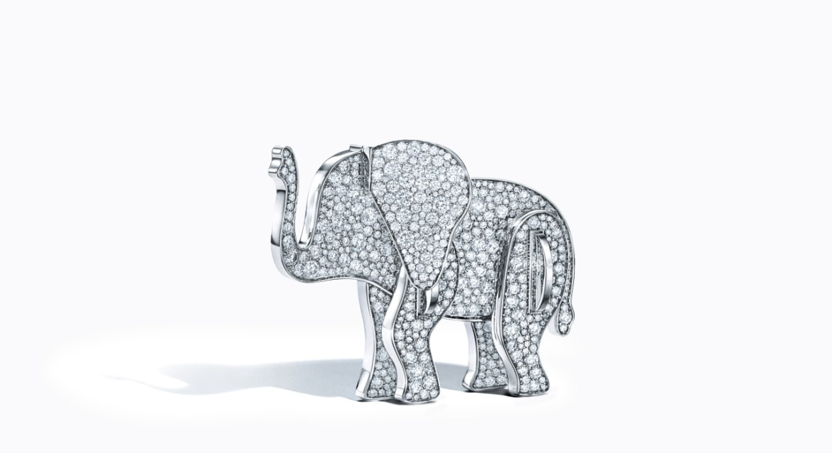 elefante tiffany co OK - 'Save The Wild' la colección de Tiffany & Co. que ayuda a salvar a los animales