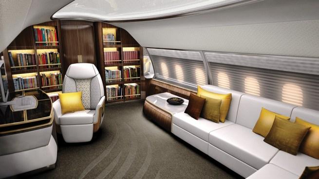 elegante design q - Quédate sin aliento con los interiores personalizados de estos jets privados
