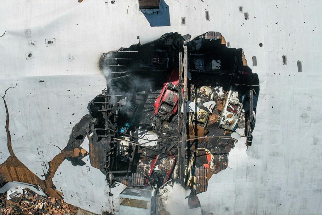Explosión de gas daña una de las colecciones de Porsche más grandes del mundo