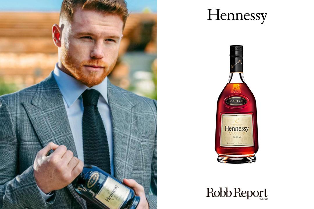 """Hennessy Canelo - Estas son las marcas favoritas de lujo de Saúl """"Canelo"""" Álvarez"""