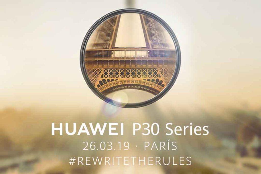 Ya hay fecha para conocer la nueva serie Huawei P30