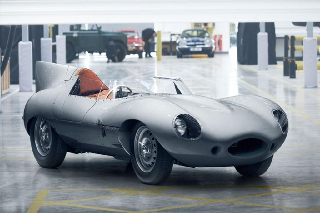 Rescatan al Jaguar D-Type, de los más bellos y laureados de la marca