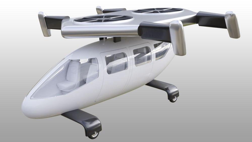 jc2 - JETcopter es el próximo helicóptero que podría aterrizar en un estacionamiento