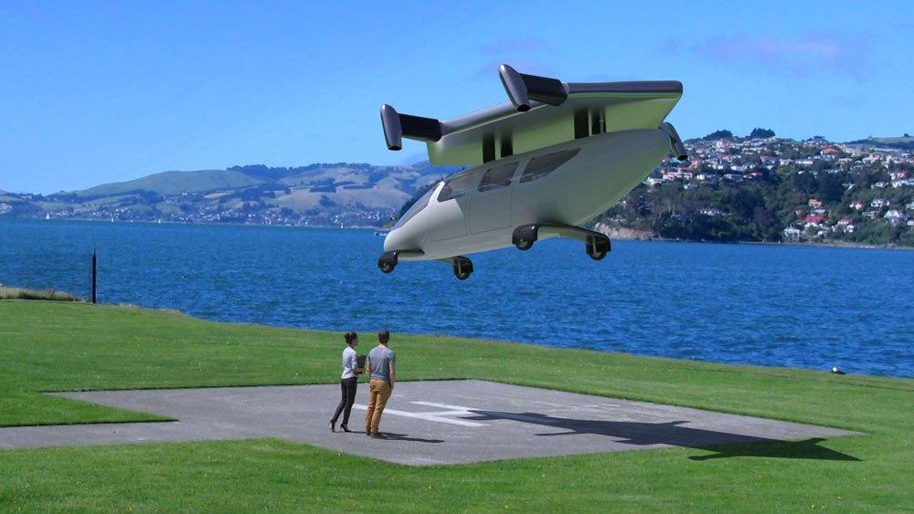 jc4 - JETcopter es el próximo helicóptero que podría aterrizar en un estacionamiento