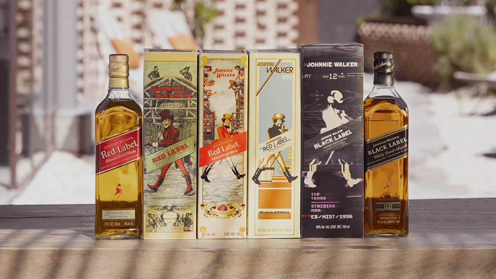 JW4A 1280 1024x576 - Con estas ediciones especiales, Johnnie Walker celebra los 110 años del Striding Man