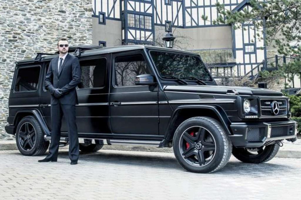 ¿Requieres seguridad extra? Esta limusina blindada de Mercedes-Benz es para ti