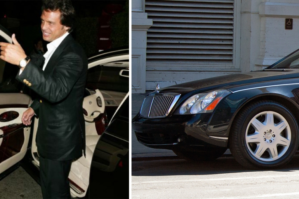 lm3 1024x683 - En estos lujosos autos se ha transportado Luis Miguel