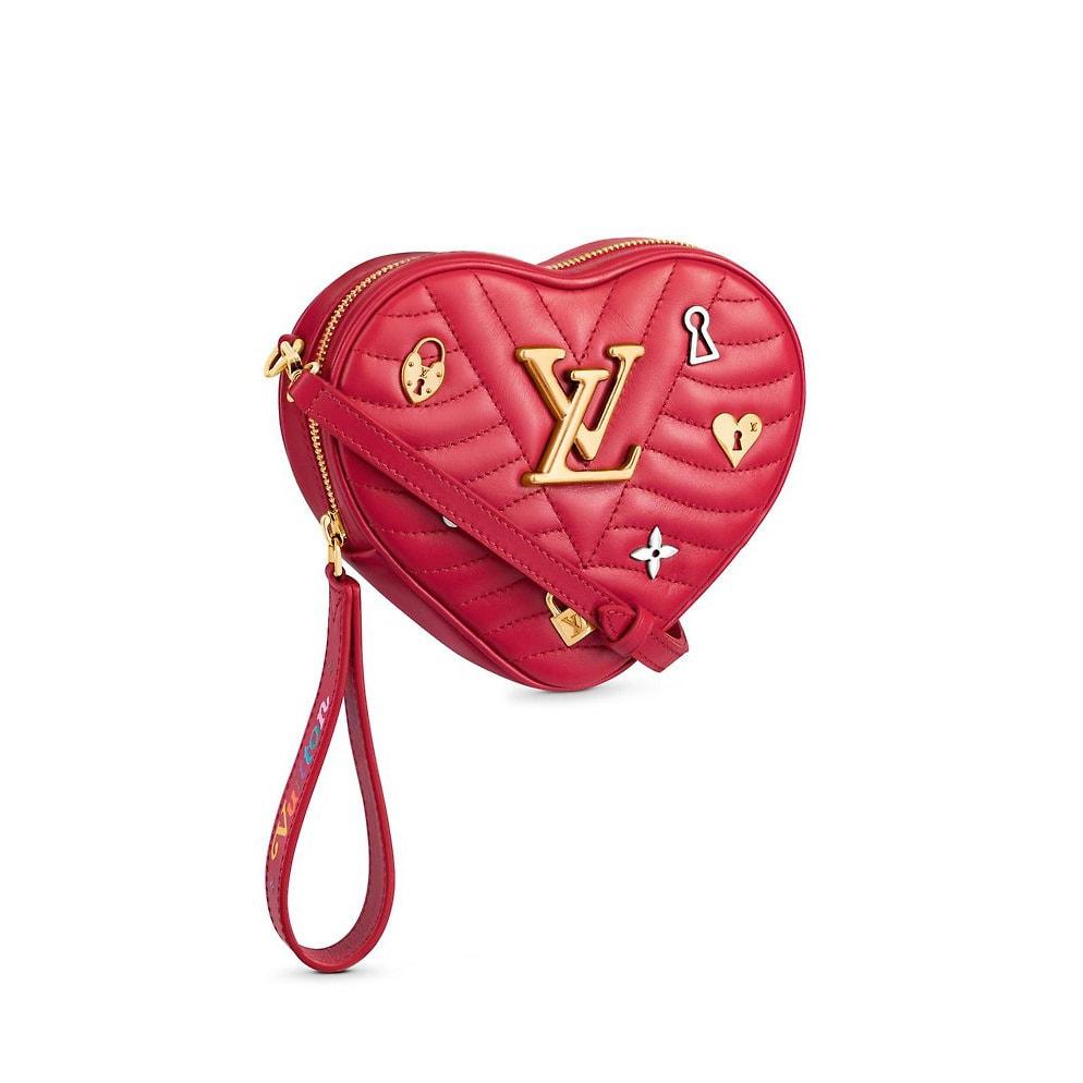 Louis Vuitton Love Lock New Wave Heart Bag - San Valentín llegó a Louis Vuitton: Love Lock Collection