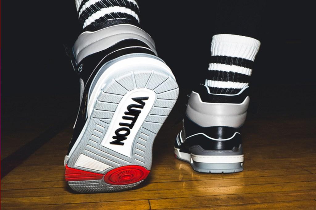 LV TRAINER, las nuevas zapatillas de baloncesto de Louis Vuitton