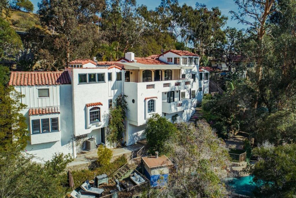 Así vivían Marilyn Monroe y Joe DiMaggio en su antigua casa de Hollywood Hills