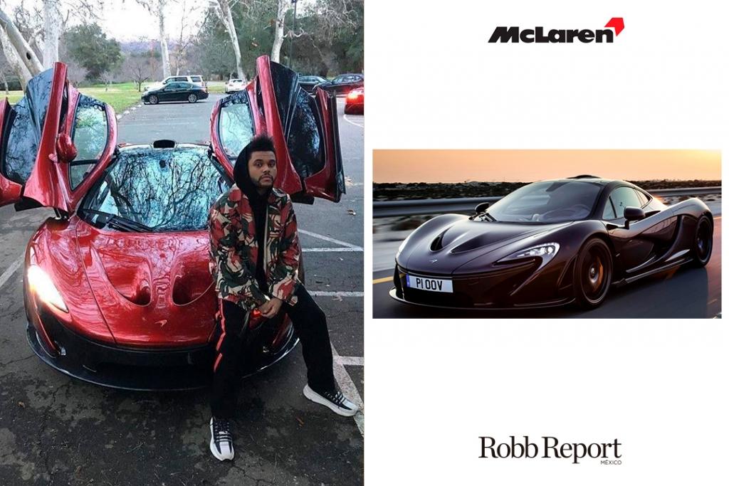 McL TW 1024x683 - Estas son las marcas favoritas de lujo de The Weeknd